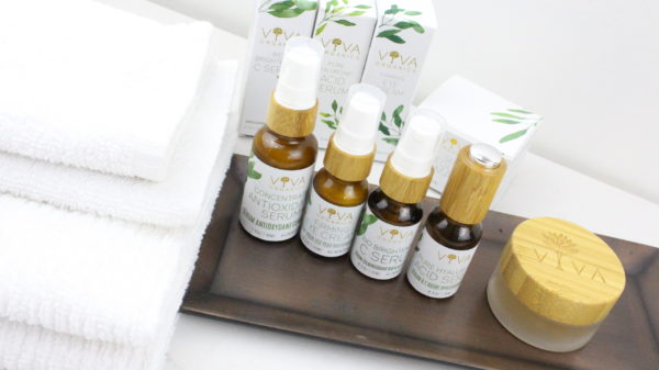 See a usual night routine featuring a vegetarian recipe and natural organic beauty products. There's also a giveaway!