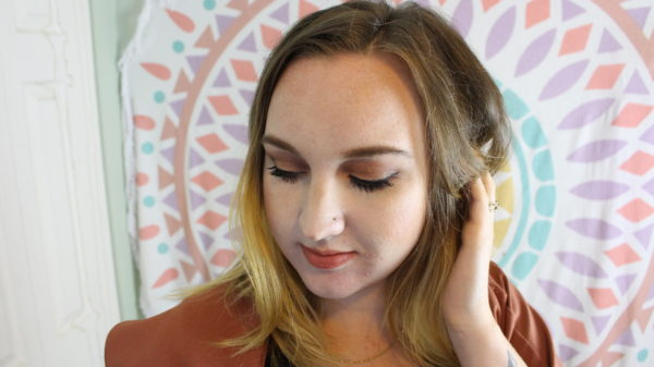Step by step fall makeup tutorial using trendy earthy tones that are perfect for fall. All products are cruelty free too!