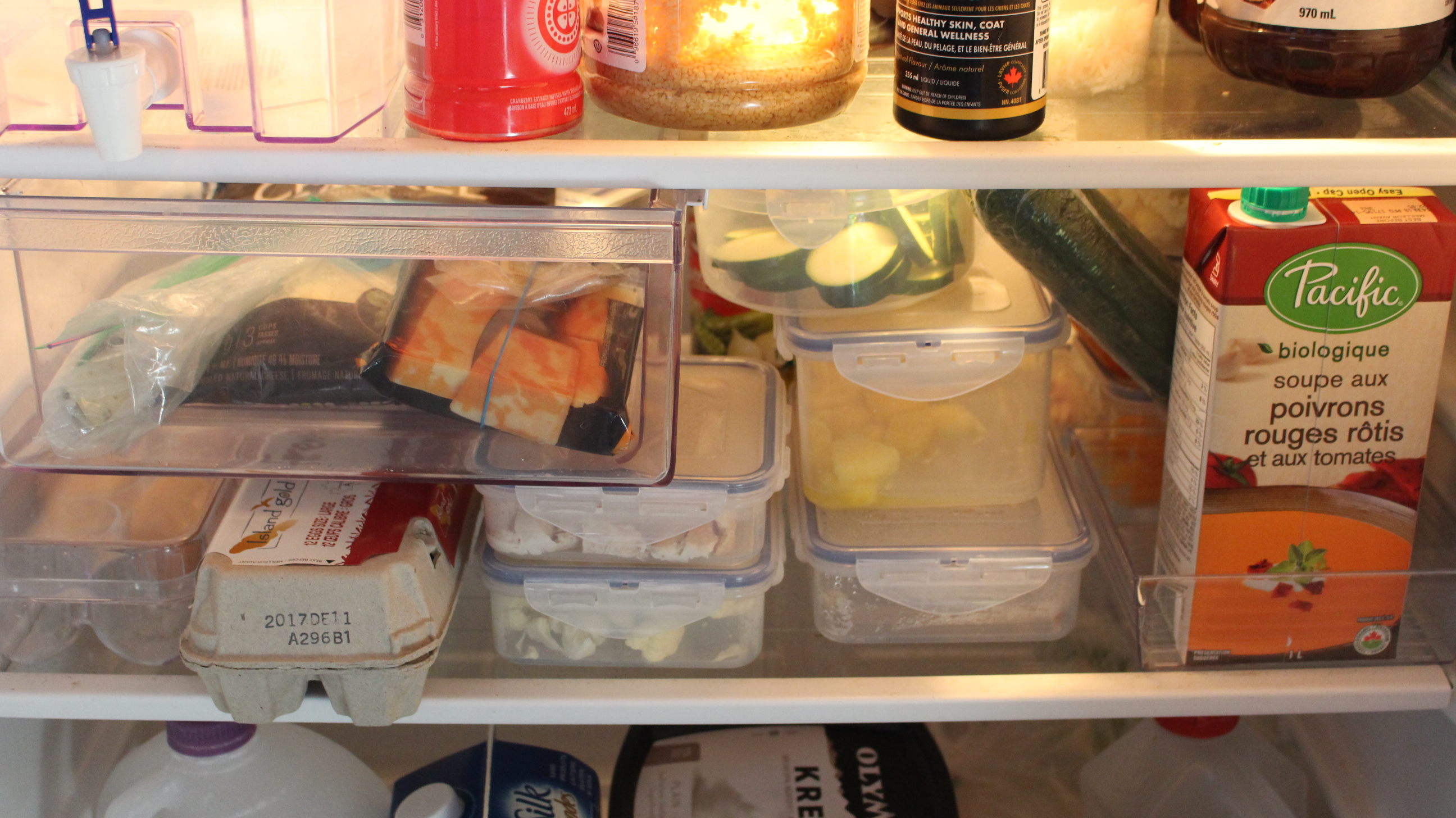 Avoid food waste with some planning and proper food storage.
