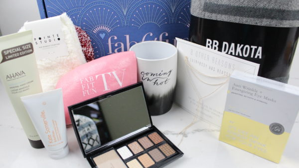 FabFitFun winter 2017 unboxing and first impressions.