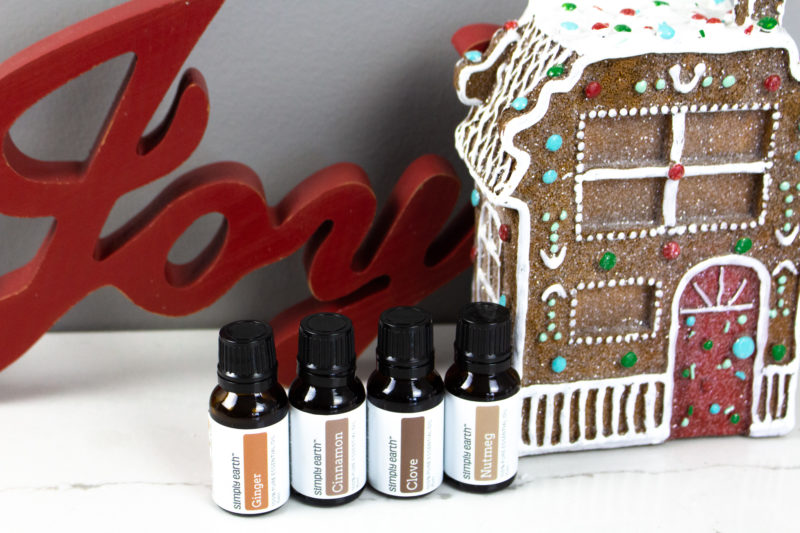 Holiday essential oil diffuser recipes.