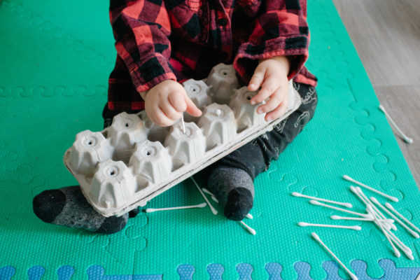 5 fun activities for 9 - 12 month olds.