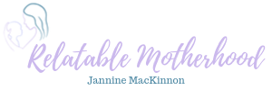 Relatable Motherhood – Jannine MacKinnon Logo